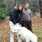 Николя Саркози и его бывшая жена Сесилияв Перенеях